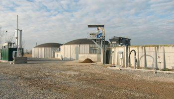 Sistema manuale/automatizzato per trasferimento e gestione dei reflui nell'impianto di biogas.