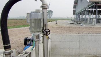 Sistema automatizzato per il ricircolo del canale collettore dei raschiatori.
