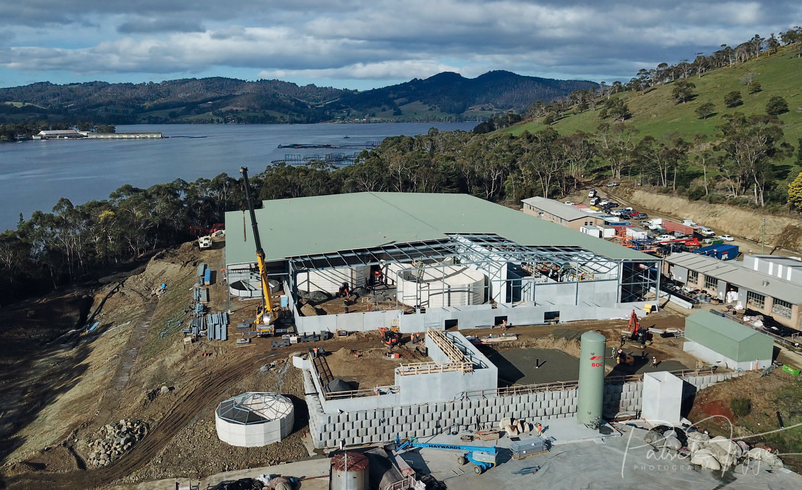Tasmania Pompa itticoltura Veneroni